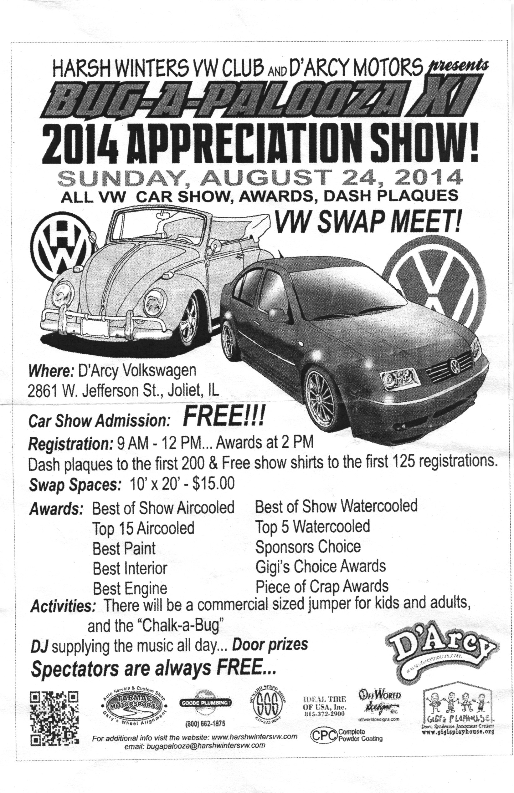 Harsh Winters VW Club - Winters car show